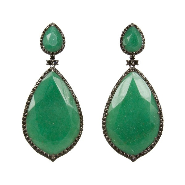 Opera Teatro Earrings in Aventurine
