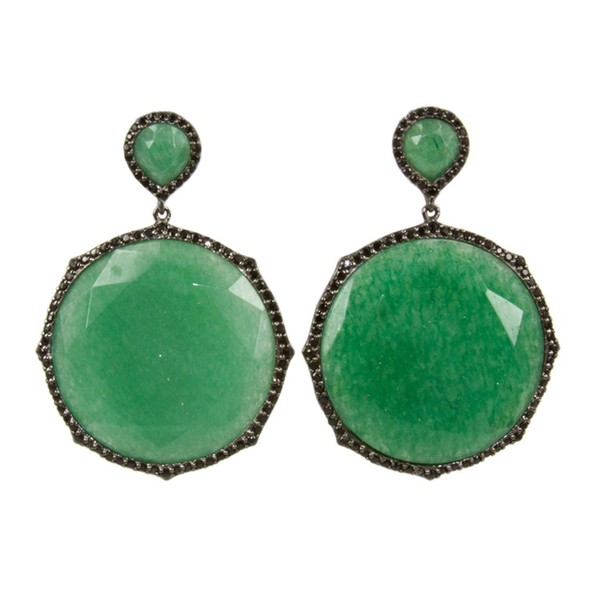 Opera Otta Earrings in Aventurine