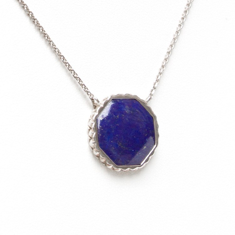 Deco Keystone Necklace - Otta Lapis