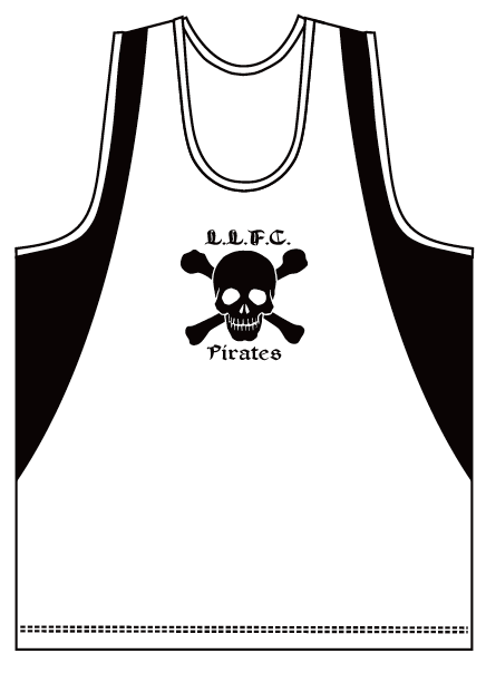 Pirates Lightweight Training Singlets