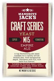 Mangrove Jack M15 Empire Ale Yeast - 10 g