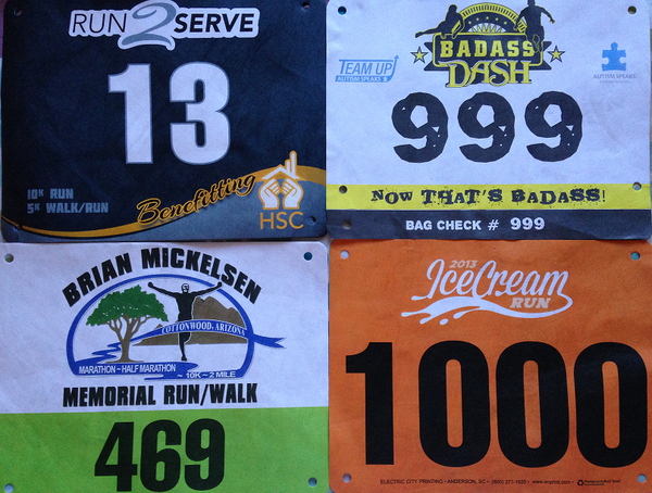 Custom Event Race Bibs