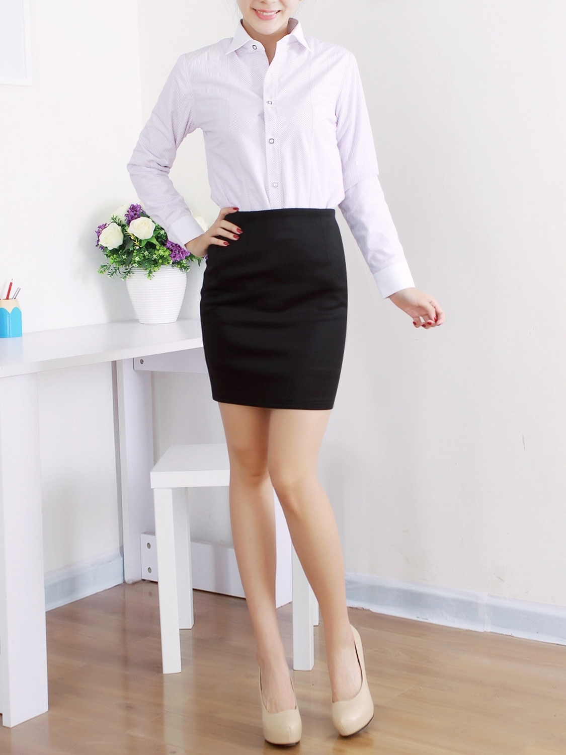 The Office Lady Pencil Skirt
