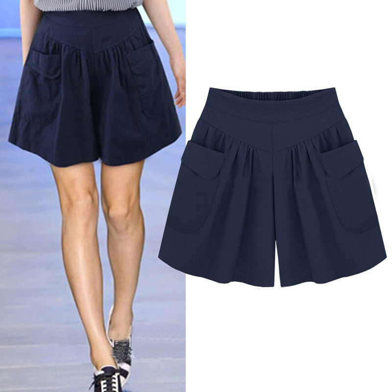 Loose Skirt Pants Shorts