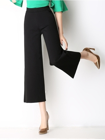 Wide leg Formal Culotte Pants  (M-6XL)