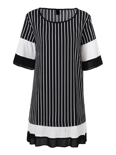 Monochrome Wonder Dress [Ready Stock Available]