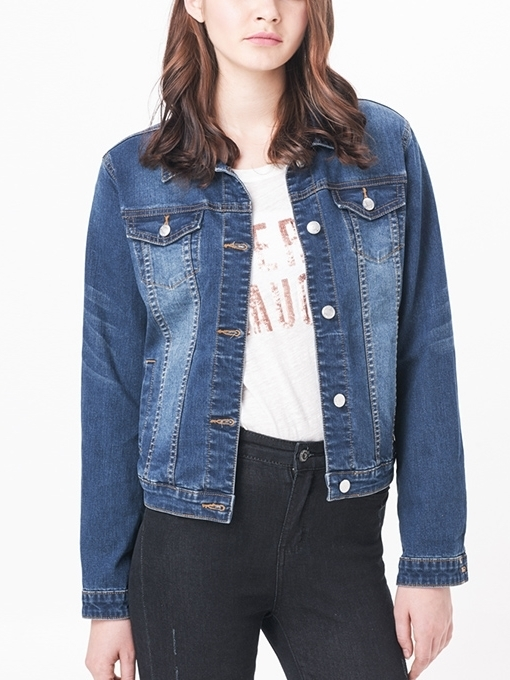Dark Premium Denim Jacket