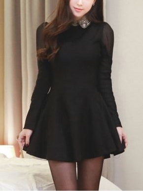 Sparkle Collar Party Dress