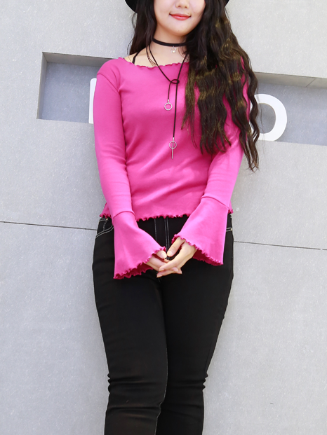 Fuchsa Bell Sleeve Top