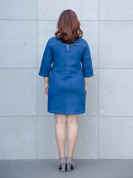 (Ready Stock) No. 7 Edryen Denim Dress