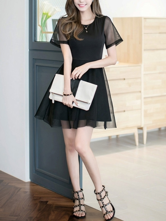 Tulleblack Dress