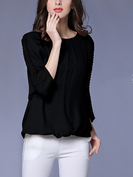 Alca Blouse (Black)