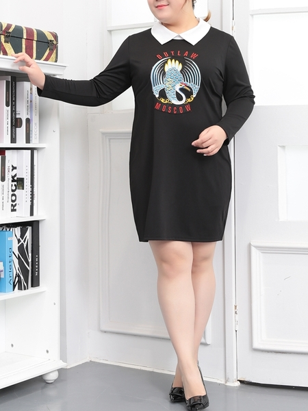 Moscow Collar Dress (EXTRA BIG SIZE)