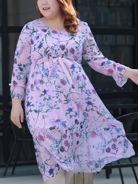 Thery Midi Floral Dress