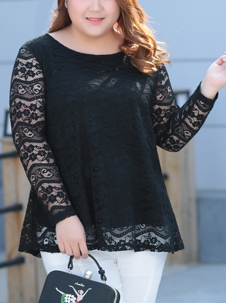 Sorelle Lace Top (EXTRA BIG SIZE) (2 Colour!)