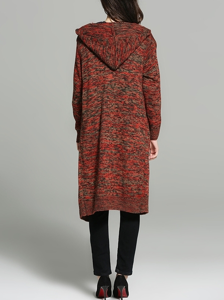 Sima Hooded Long Jacket