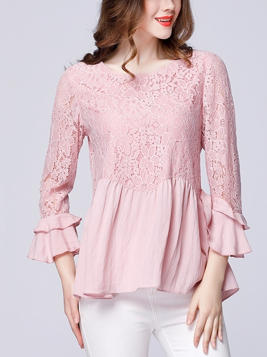 Agda Lace Blouse