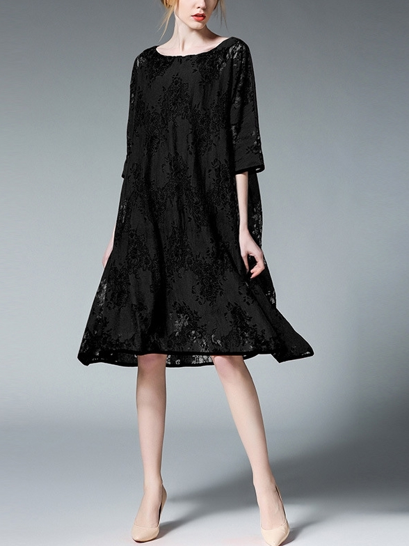 Kathleen Lace Dress (XL-XXXXL)