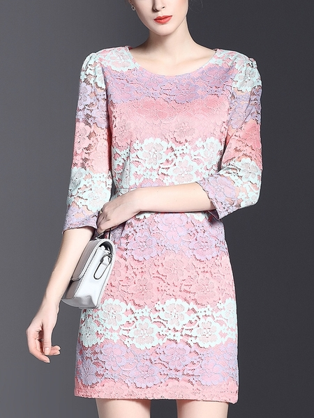 Nata Ombre Lace Dress