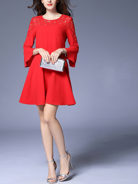 Nadita Bell Sleeve Dress