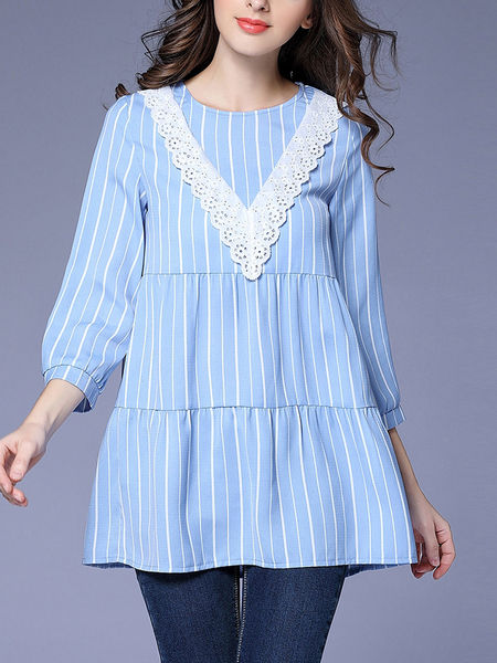 Namid Stripe Blouse