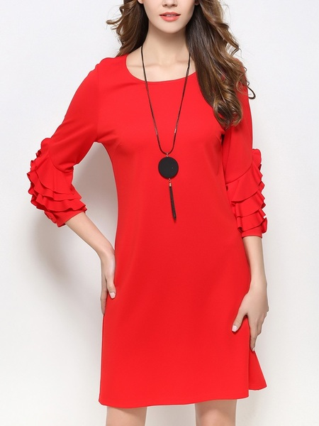 Harriet Sleeve Detail Dress (S - XXXXXXL)