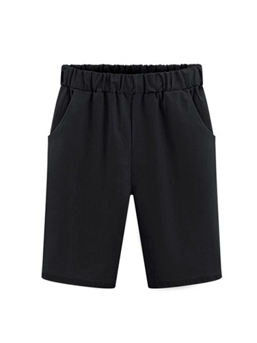 (Ready Stock 4XL Black *1) Every Day Mid-Shorts (4 Colour)