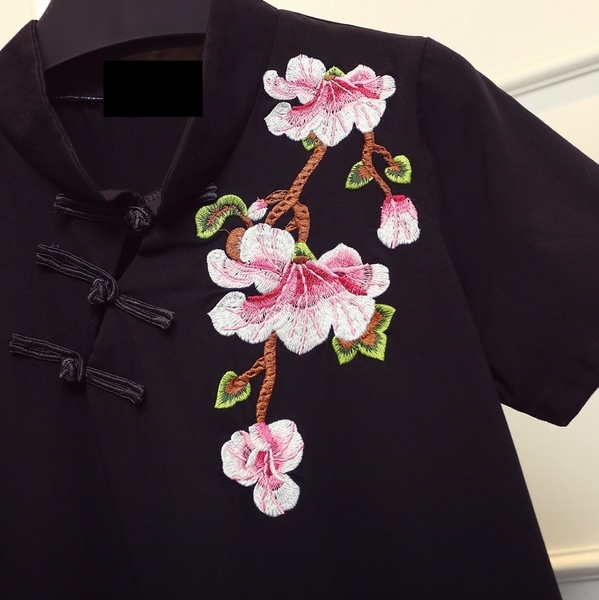 (Ready Stock XL - 4XL) Orient Blossoms Qipao Dress