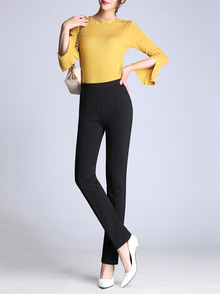 Eeden Panel Slim Pants (EXTRA BIG SIZE!) (Multiple Colours)