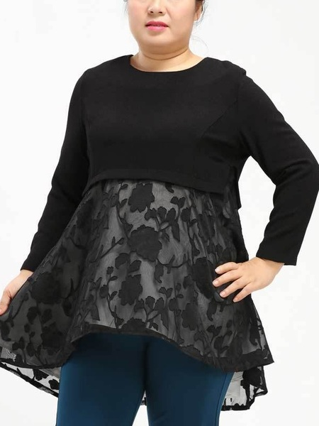Darynn Lace Layer L/s Blouse