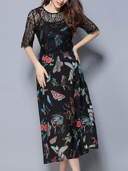 Adellin Long Dress