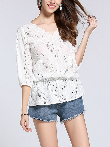 Alondra Crochet Blouse