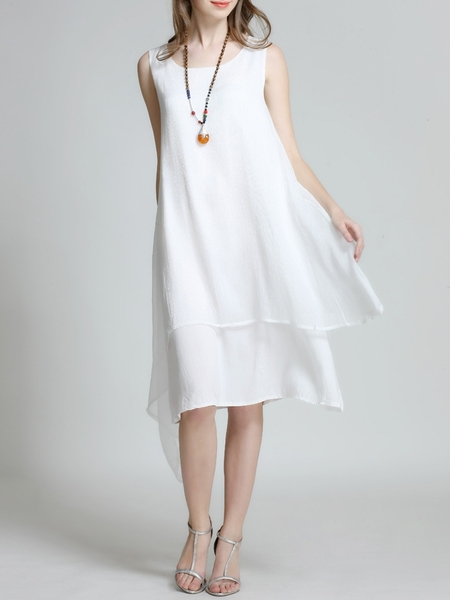 Amaranda Layer Sleeveless Dress