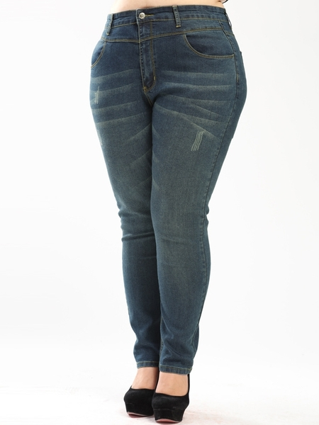 Arcade Slimming Denim Jeans (EXTRA BIG SIZE)