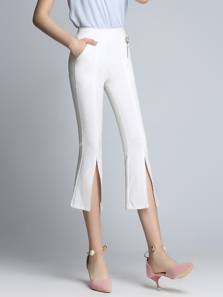 Arianna Slit-front Pants