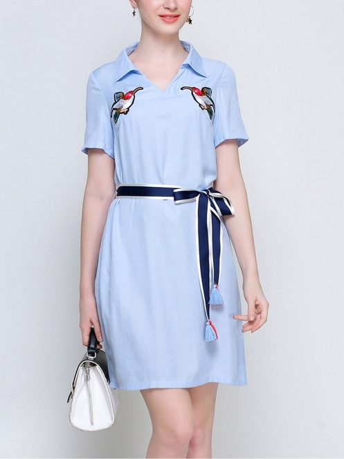 Bunme Shirt Dress