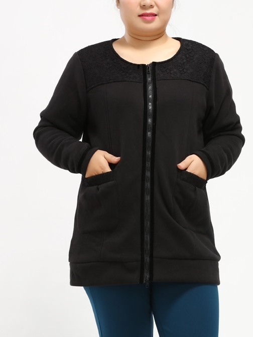 Diona Thick Jacket (EXTRA BIG SIZE)