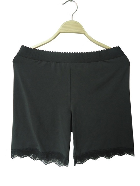 Eulallia Lace Hem Safety Shorts (EXTRA BIG SIZE)