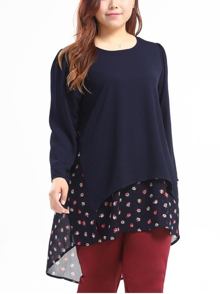 Etta Long Back Blouse (EXTRA BIG SIZE)