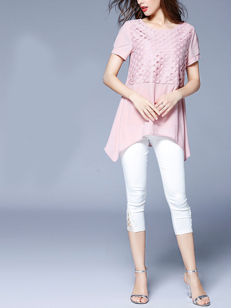 Erissa Pink Layer Blouse