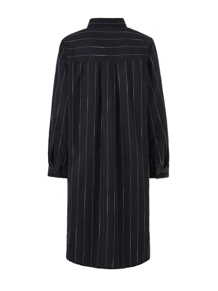 (UK 12 - 30) No. 10 Cher Stripe Shirt Dress