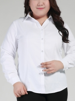 Isabel L/s Business Shirt (EXTRA BIG SIZE)