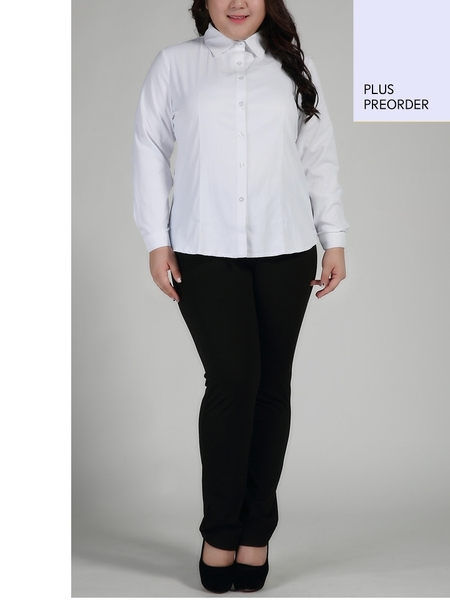 Isabel L/s Business Shirt (EXTRA BIG SIZE) (2 COLLAR TYPE)