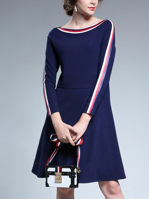 Icacia Boatneck Dress