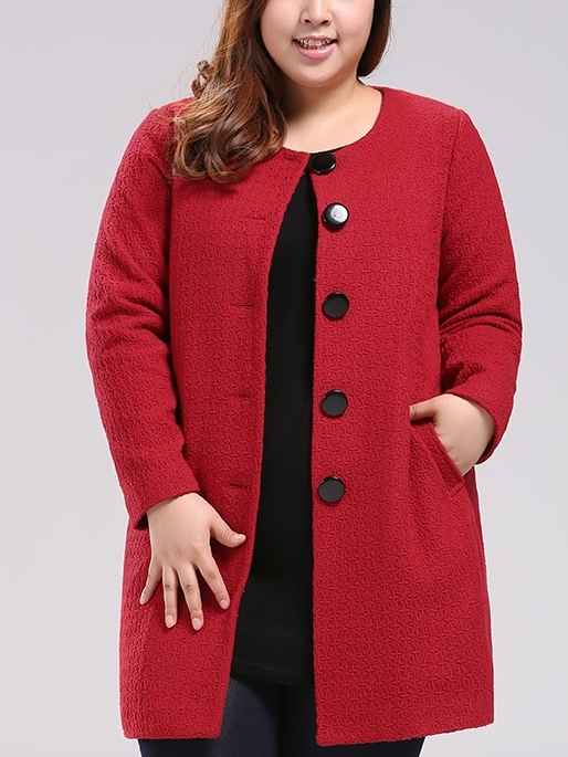 Jaden Woolen Winter Coat (EXTRA BIG SIZE)