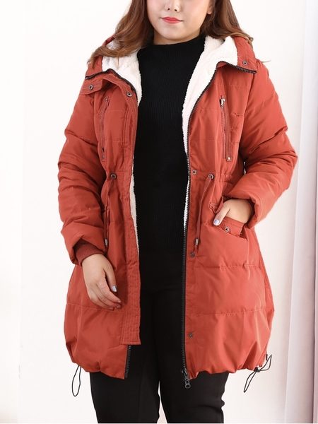 Jaida Lightweight Down Winter Long Jacket (EXTRA BIG SIZE)