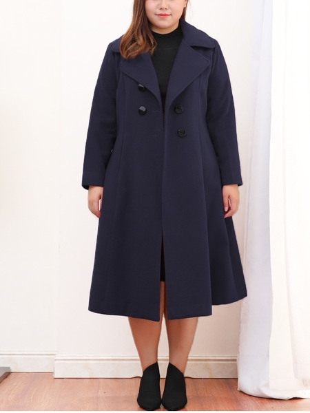Jaimi Long Length Winter Coat (EXTRA BIG SIZE)