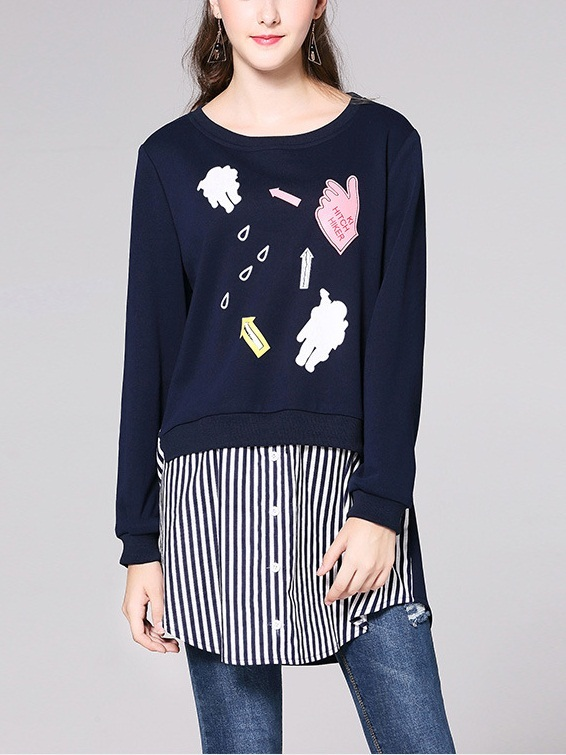 Jaslia Patch Layer L/s Shirt