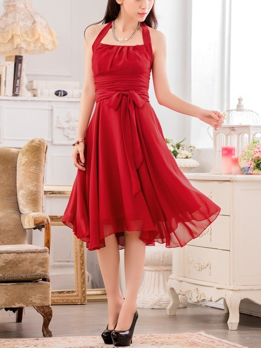 Karlotta Halterneck Swing Dress (Also suitable for Retro Themes)