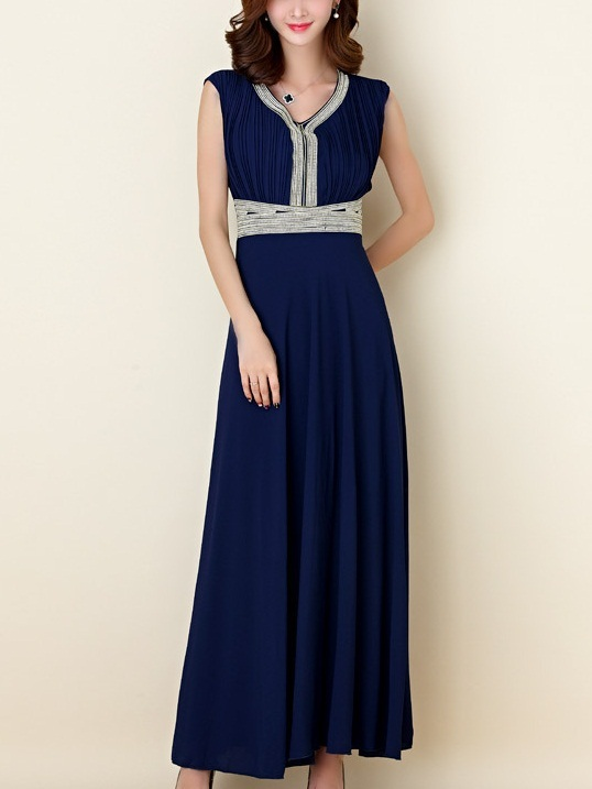 Karliah Diamante Maxi Dress